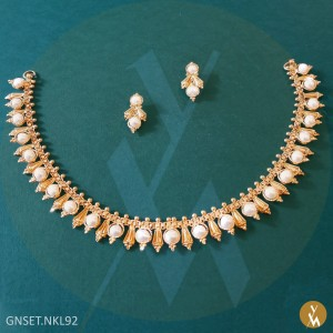 Gold Necklace Set (GNSET.NKL92)