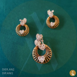 Diamond Pendant Set (DIP.ANI1) (DIER.AN2)