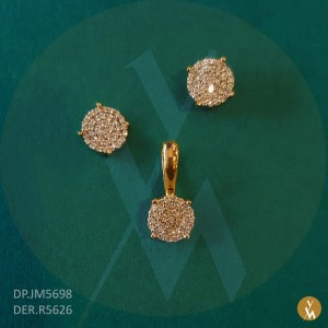 Diamond Pendant Set (DP.JM5698) (DER.R5626)