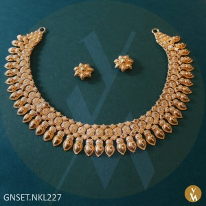 Gold Necklace Set (GNSET.NKL227)