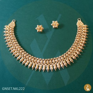 Gold Necklace Set (GNSET.NKL222)